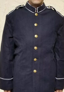 US Army M1902 Dress Blue Infantry Tunic Coat Size 44
