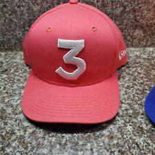 NEW ERA CHANCE THE RAPPER SALMON PINK HIGH CROWN ORIGINAL FIT 9FIFTY SNAPBACK