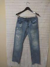 Men's American Eagle Outfitters 5 Pocket Distressed Jeans, Size 30 X 29