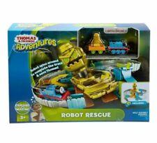 Thomas & Friends FJP85 Robot Rescue Set,Toy Train Set. FREE ACTIVITY BOOK!!!