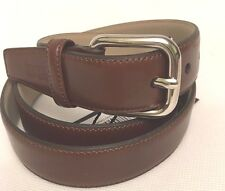 GF Ferre classic made in Italy brown leather belt (105/120cm)