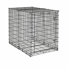 "XXL Dog Kennel 54"" x 35"" x 45"" Single Door Pet Crate Kennel Midwest Huge Travel"