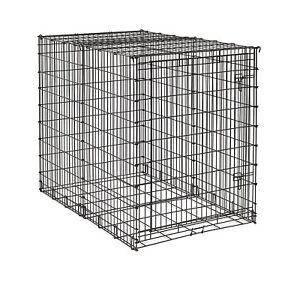 "XXL Dog Kennel 54"" x 35"" x 45"" Single Door Pet Crate Kennel Midwest Huge Travel"
