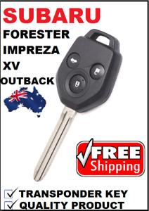 Remote Car Key suitable for Subaru  Forester Impreza Outback XV 2012 - 2016 G