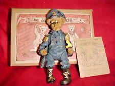Mint In Box~Boyds Bears Resin Filbert Q. Foghorn Christmas Shoe Box Bear 3208