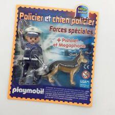 Playmobil Blister policier avec chien