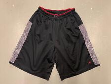 Jordan Retro 3 Shorts Men 3XL Black Cement Print Jumpman Logo Pockets