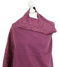 Indian Paisley 100% Pashmina Wool Hand Embroidered Shawls Stole Kashmiri Scarves