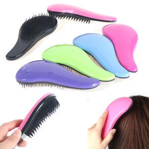 Detangling Hair Brush Comb Anti-static Brush Tangle Wet Dry Bristles Curly Br OH