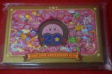 Club nintendo Kirby 20th anniversary Medal mario zelda Hoshi no kirby