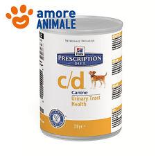 Hill's Prescription Diet c/d Agnello e Riso 370 gr Alimento umido per cane cani