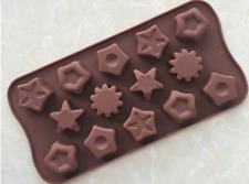 14 Étoiles Base De Silicone Chocolat Moule De Cookie Cuisson Glaçon Gelée Bougie