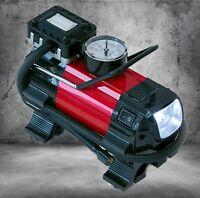 Dino Kraftpaket 2in1 Kompressor mit LED-Lampe 12V 140W Luftpumpe Pumpe 136309