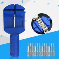Watch Band Link Pin Remover Strap Adjuster Opener Repair Tool &12 Pins Kits