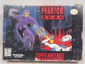 Phantom 2040 (Super Nintendo | SNES) Authentic BOX ONLY
