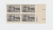block of 4 SILVER CENTENNIAL stamps *BUY ONE GET ONE FREE!* Scott #1130 MNH US
