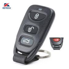 New Remote Key Fob 3 Button+Panic 315MHz for Hyundai Elantra Sonata 2007-2010
