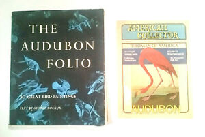 The Audubon Folio 30 Great Bird Paintings SINGLE ELEPHANT Portfolio Prints 1964