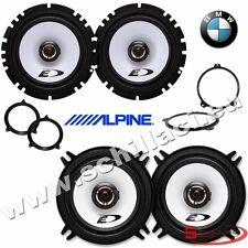 4 speakers kit for BMW serie 3 e46 1998-2006 box + spacer rings adapters