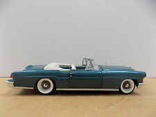 1956 Lincoln Continental Convertible D4C  Franklin Mint 1:24 w/ Box