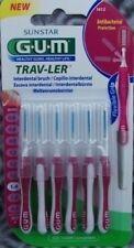 Gum  Trav-Ler 6 Stück pink 1612  Trav Ler    Travler Interdentalbürsten