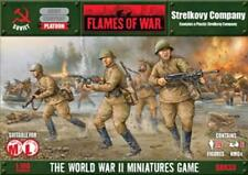 Flames of War Strelkovy Company Soviet Mid-war / Late War Miniatures SBX33