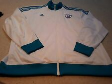 Schalke 04 Football - Full Zip Tracksuit Top by Adidas - Size 2XL - Brand New