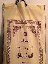 Men's Ihram/Ehram For Hajj & Umrah White Cloth/Towel Islam