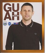 HUDDERSFIELD TOWN v BRIGHTON AND HOVE ALBION 2013-2014 MATCH + BENNETT POSTER
