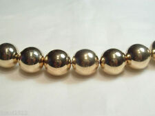 Gold Plated Jewellery Making Acrylic Beads