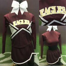Real Cheerleading Uniform Youth L Eagles