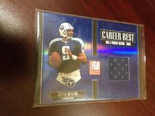 STEVE MCNAIR 2005 ELITE CAREER BEST MIRROR BLUE JERSEY /175!!! RARE EBAY 1/1!!!!