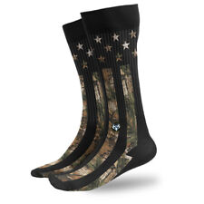 Camouflage Stars and Stripes American Flag USA Patriotic Athletic Socks 3011