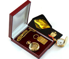 JUSTICE SCALES Keyring & Pocket Watch Gift Solicitor Business Police Law Legal