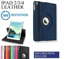 iPad 4 3 2 Case Cover for Apple - Premium Stand Smart PU Leather Cover(no black)