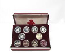 19 x Silver Proof Canadian Dollar Coins Set Box COA Bullion Gift Rare