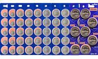 Murata Lithium 3V CR2032-1216-1220-1616-1620-1632-2016-2025-2430-2450 (5 Pack)