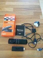 Amazon Fire TV Stick (2nd Generation) Media Streamer with Alexa Voice Remote