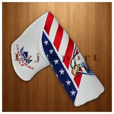 US Eagle Magnetic Golf Putter Headcover Blade For Cleveland Scotty Cameron Adams