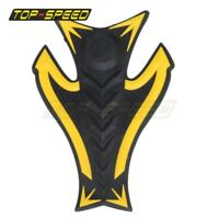 3D Yellow Rubber Oil Gas Tank Fuel Pad Protector Sticker For Suzuki Universal