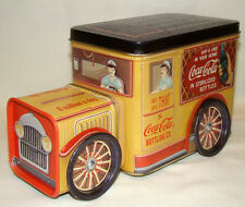 Vintage Coca Cola Bottling Company Delivery Truck Tin Toy 1995