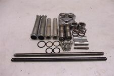 2002 Harley Super Glide 88ci FXD SM320B. Engine rear pushrods tubes covers