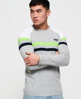 Superdry Orange Label Engineered Panel Long Sleeve T-Shirt