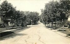 Plymouth Wisconsin~Reed Street Neighborhood Homes~1930s Real Photo~RPPC