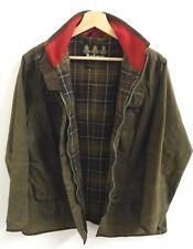Womens Vintage Barbour Wax Utility Jacket size UK 16 Original : J986