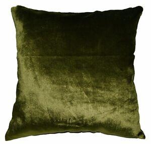 mo99a Dark Olive Shimmer Velvet Style Cushion Cover/Pillow Case*Custom Size*