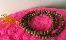 Hindu/Buddhist/Yoga/Meditation Pure Sandalwood Mala & Hare Krishna Mala Bag