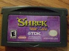 NINTENDO GAMEBOY ADVANCE SHREK HASSLE AT THE CASTLE GBA GAME