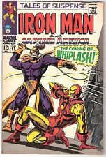 TALES OF SUSPENSE #97, MARVEL 1968, VF/NM CONDITION, 1ST WHIPLASH