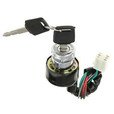 Ignition Switch 6 Wires 3 Positions for Motorcycle Scooter Quad Bike Go-Kart